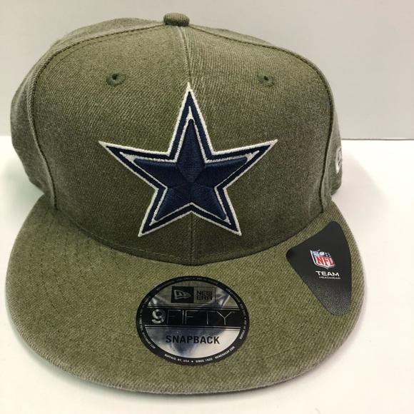 db4d8d05cb9897 New Era Accessories | Green Dallas Cowboys Snapback Hat | Poshmark
